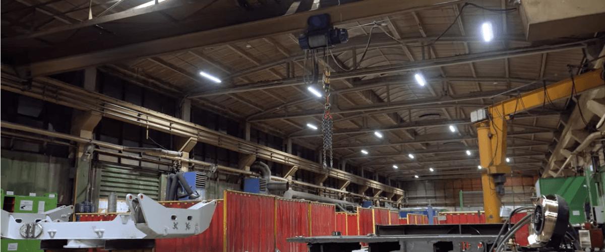 Modernizacja oświetlenia w zakładzie przemysłowym Zamet Industry