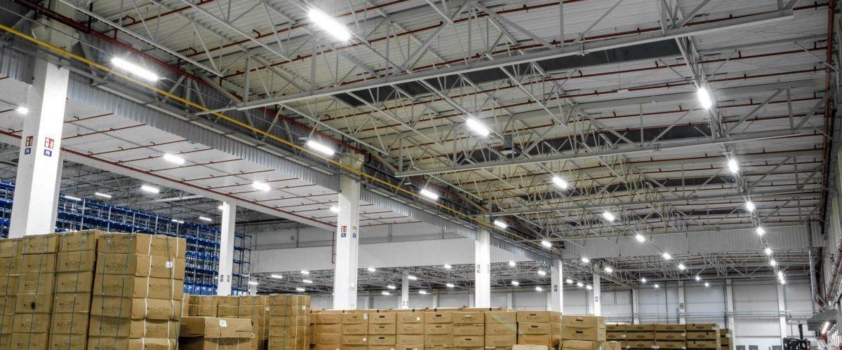 System zarządzania oświetleniem przemysłowym