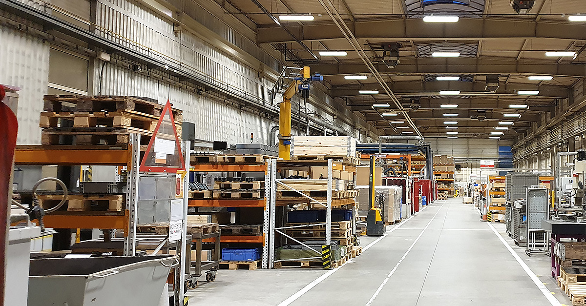 Case Study – modernizacja oświetlenia w zakładzie Viessmann